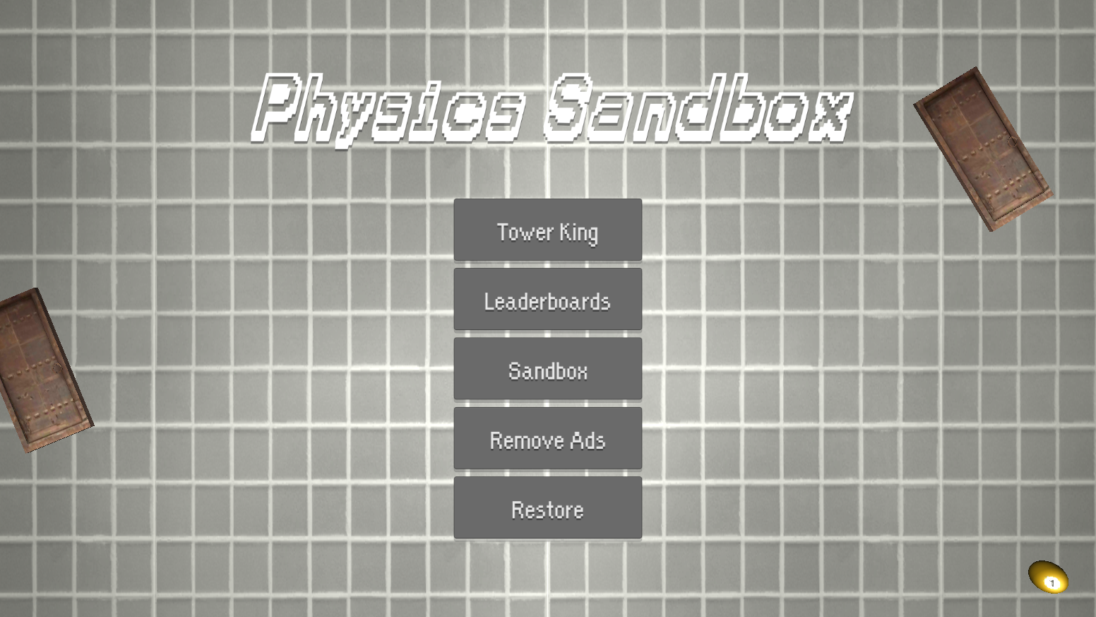 Physics Sandbox- screenshot