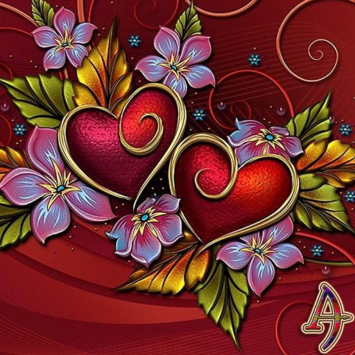 Twin Hearts Xperien Theme