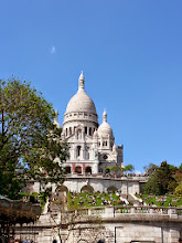 Photo: Sacre Coeur was constructed by the French as an act of penance for the nation's defeat at the hands of the Prussians in 1870. It contains what many believe to be the sacred heart of Christ.