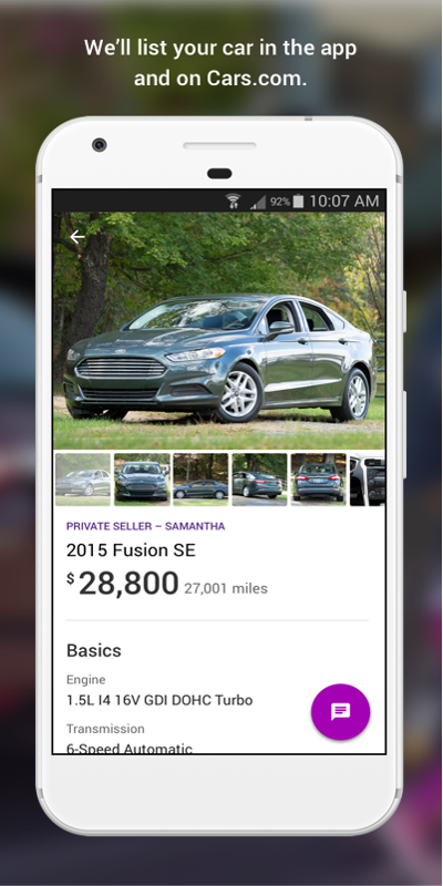 Cars.com - Car Seller Marketplace- screenshot