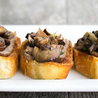Mushroom & Steak Bruschetta