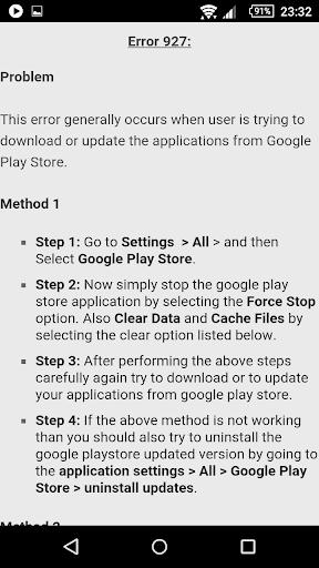 Error Codes & Fixes 1.4 screenshots 3