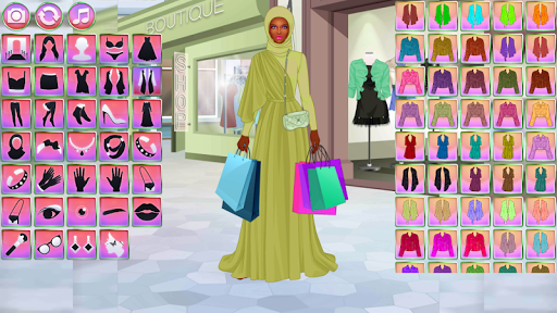 Dress Up Games: Fashion Boutique - 2500 items 1.0 screenshots 1
