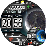 Forever Digital Watch Face For WatchMaker Users