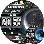Forever Digital Watch Face For WatchMaker Users Icon