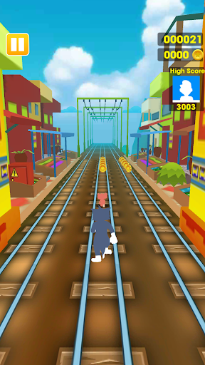 Subway Dash: Jerry Escape 1.0.1 screenshots 1