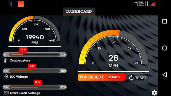 Spektrum Dashboard - náhled