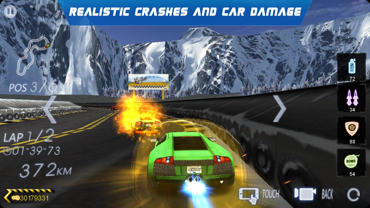 Crazy Racer 3D - Endless Race- screenshot