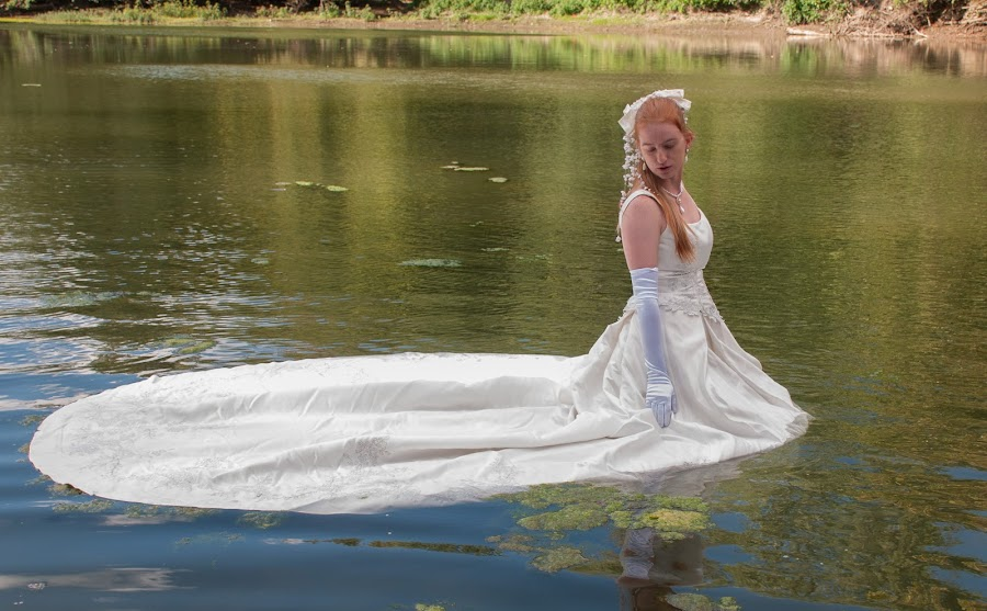 Stacey 02 by Carter Keith - Wedding Bride ( rock the frock, brides, wet bride, wedding dress, wet and messy, trash the dress )