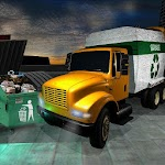 Trash Truck Driving Duty: Garbage Pail Simulator Icon