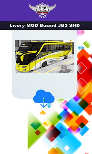 Livery MOD Bussid JB3 SHD 4.0 screenshots 5