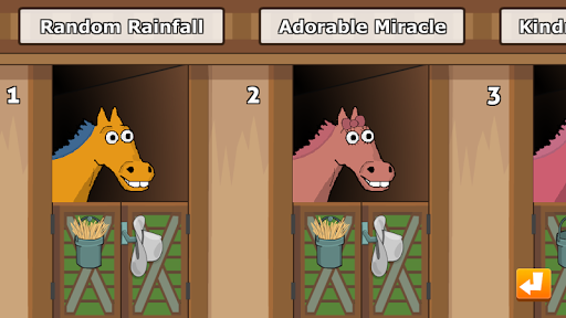 Hooves of Fire Horse Racing Game: Stable Manager 4.05 screenshots 1