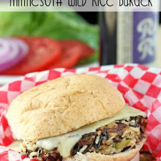 Minnesota Wild Rice Burger