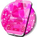 Rosa Tastatur für Galaxy S5 icon