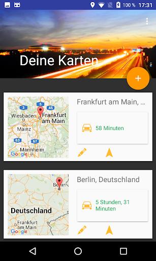 Deine Karten - Verkehrsinfo