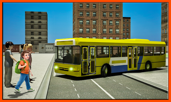Schoolbus Driver City Drive - screenshot