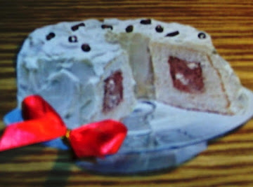 Snow Tunnel Cake         With A Birth Date Formula Recipe