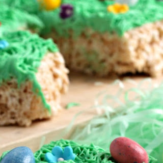 Easter Egg Hunt Rice Krispies Treats
