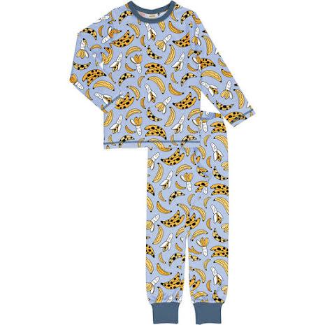 Maxomorra Pyjamas Set LS Bananana