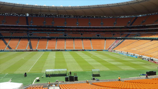 Soccer City/FNB Stadium.