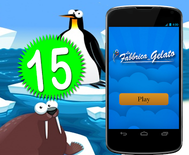 La Fabbrica del Gelato - 15 Game - náhled