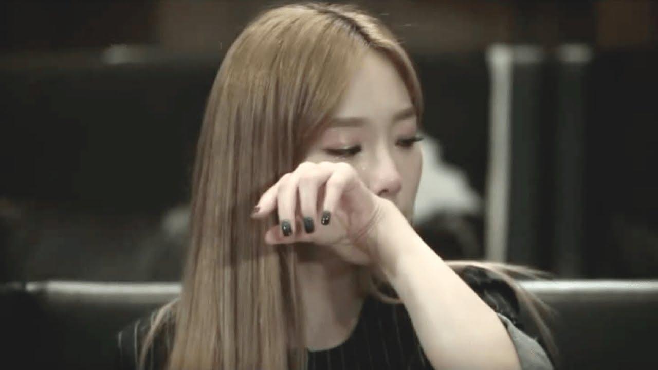 taeyeon cry