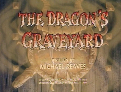 The Dragon's Graveyard title card