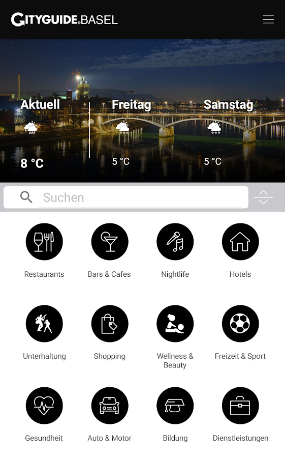 CITYGUIDE Basel- screenshot