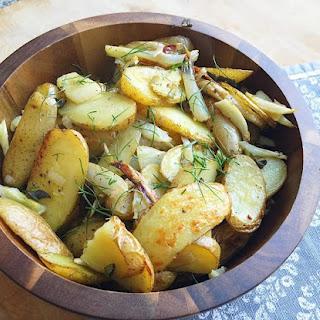 Roasted Fingerling Potatoes & Fennel
