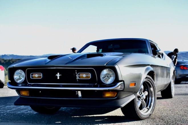 1971 Mustang Mach 1 Hire CA