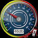 decibel meter icon