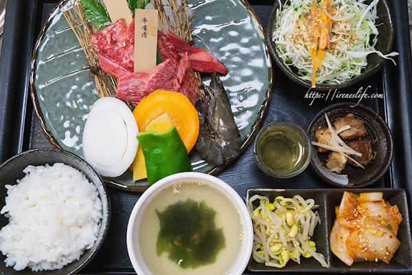 華視美食,來自靜岡60年燒肉老店,商業午餐很划算.京昌園日本本格燒肉餐廳