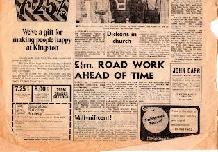 Photo: KINGSTON BOROUGH NEWS January 3, 1976 (4/4) キングストン・ボロー・ニューズ