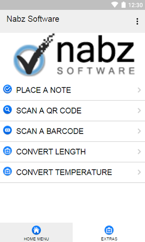 android Nabz Software Screenshot 1