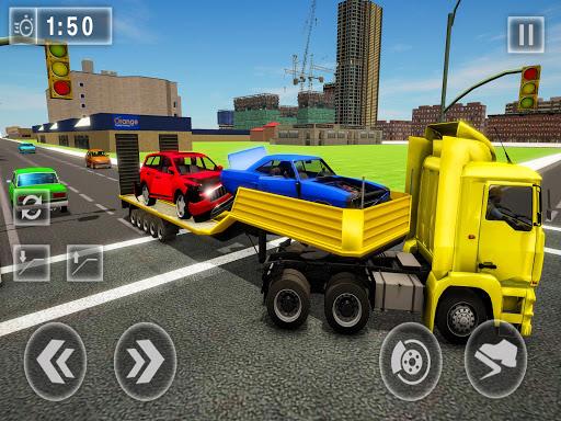 Crazy Tow truck 2020: 3D Euro Driving Simulator  screenshots 11