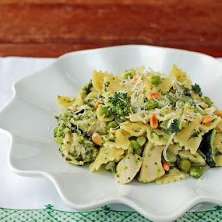 Bowtie Pasta With Chicken And Peas Recipes