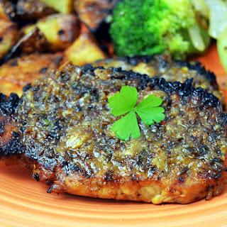Caraway and Lemon Pork Chops