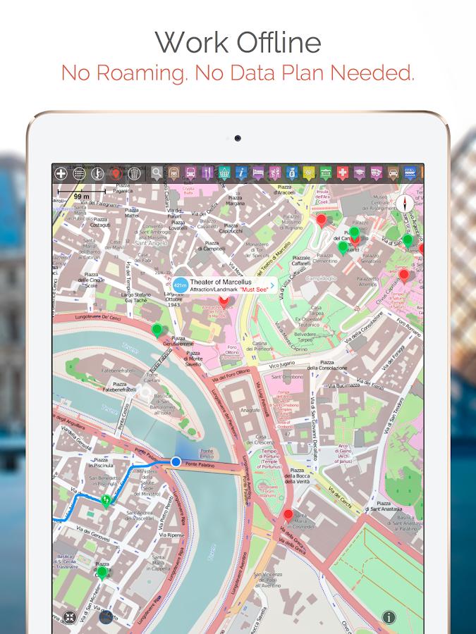 Toronto Map and Walks - screenshot