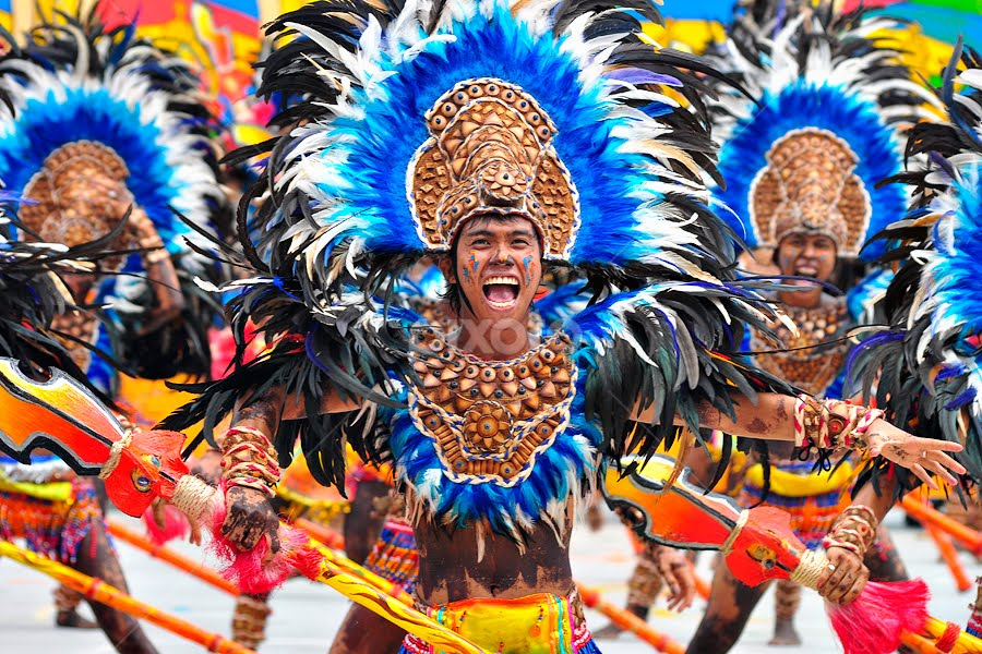 DINAGYANG FESTIVAL 2012 by CLEE Villasor - People Street & Candids ( excitement, dancing, eureka, joy, choreography, iloilo, folklore, contingent, people, ati-atihan, festival, portraits, dances, folk, tribe, colors, dinagyang, iloilo city, native, dinagyang festival, philippine festivals, festival portraits, philippines, dance, travel photography, festival dance )