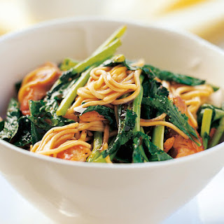 Chicken and Chinese Broccoli Stir Fry.