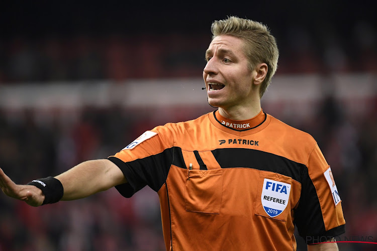 L'UEFA vient de promouvoir deux arbitres belges