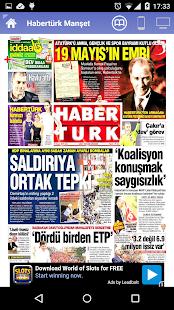 Tüm Gazeteler - screenshot thumbnail