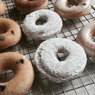 Skinny Homemade Baked Donuts