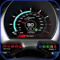 Speedometer HD live Wallpaper icon