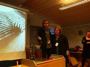 Photo: Fredagen drog igång med prisutdelning till Heidi för avslutad bloggtävling.