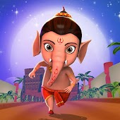 Little Ganesha - Running Game