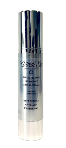 Multivitamin bioactive face cream
