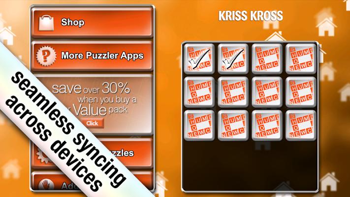 Kriss Kross Puzzler - screenshot