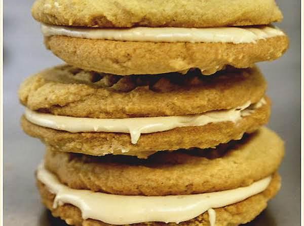 My Kids' Favorite Caramel Cream Sandwich Cookies