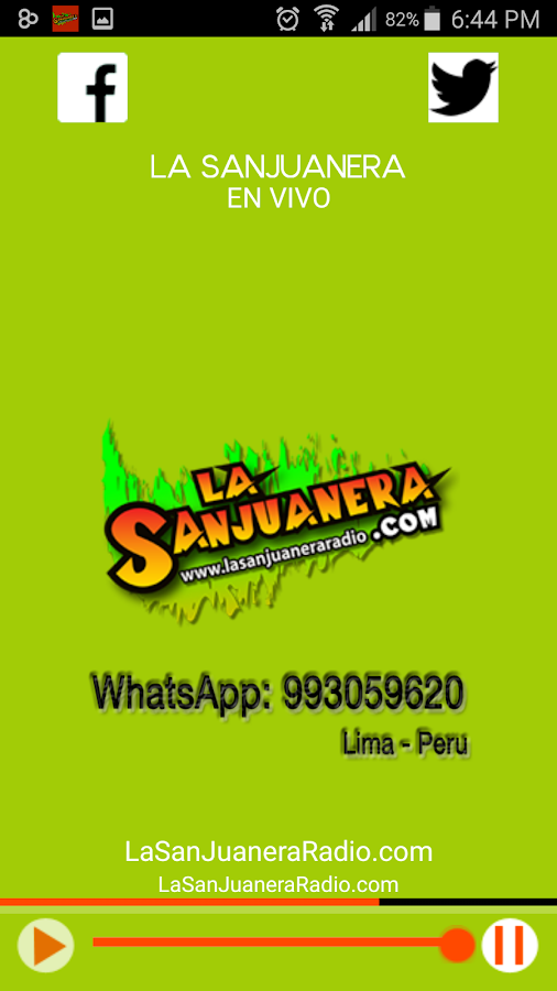 La Sanjuanera Radio- screenshot